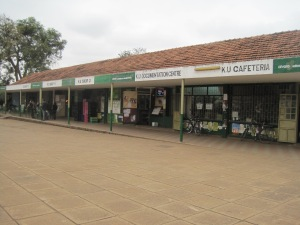 Kenyatta University Shopping Center- Barber Shop second from the end on the left